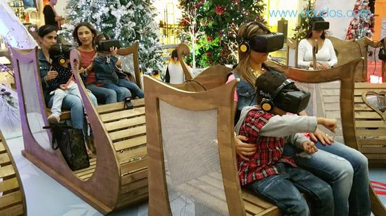 Navidad Parque Comercial El Tesoro 2015